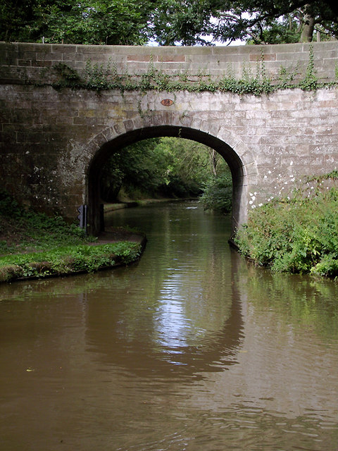 Plardiwick Bridge near Gnosall Heath, Staffordshire