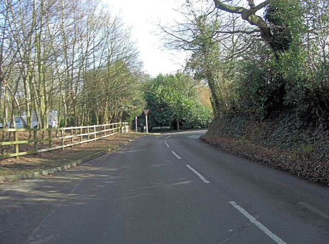 Junction of School Lane and Church Road