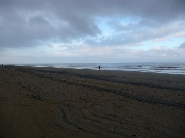 Berrow - Running On The Beach
