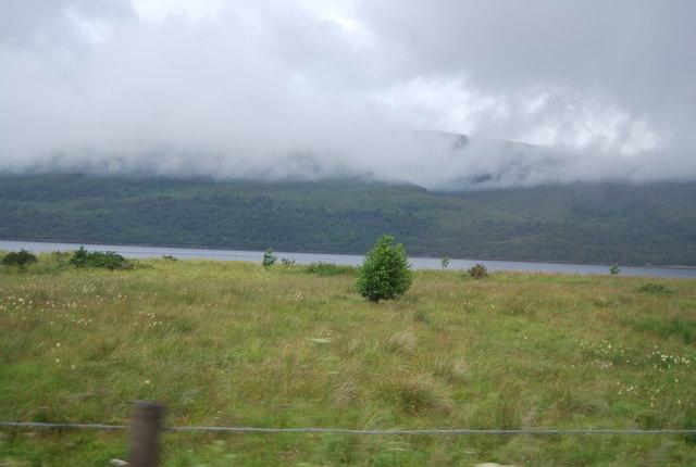 Grassland by the A82, Coruanan