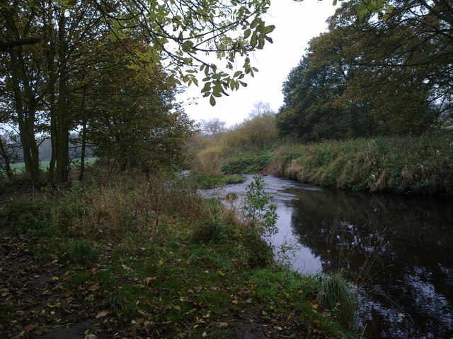 View of the river Browney