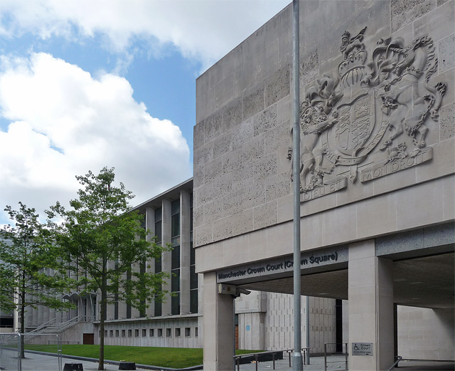 Crown Court, Crown Square, Manchester