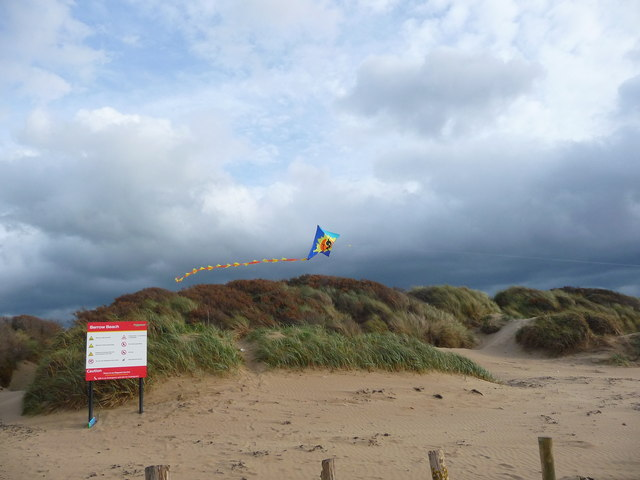 Berrow - Kite In The Dunes