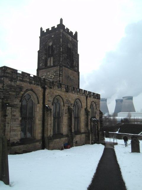 Brotherton Churchyard.