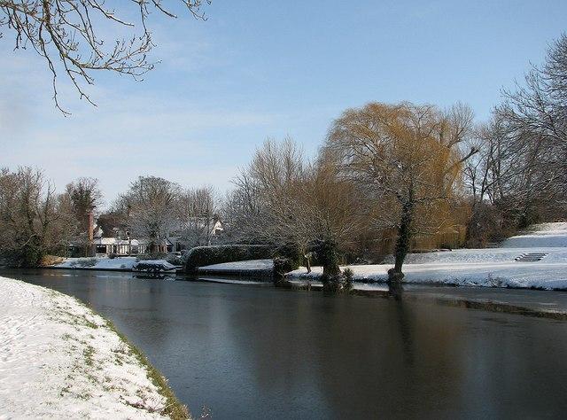 Snow at Fen Ditton