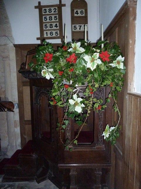 A late November visit to St Nicholas, Newnham (14)
