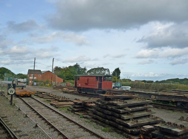 Dunster - Railway Sidings