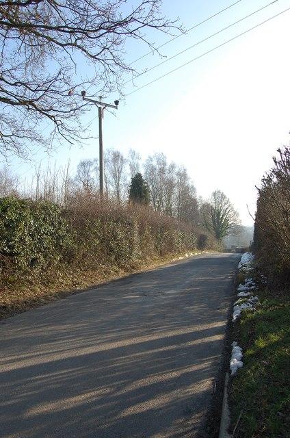 Slip Mill Road, near Gill's Green