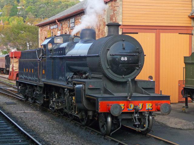 Minehead - 7F CLASS 2-8-0 88 Locomotive