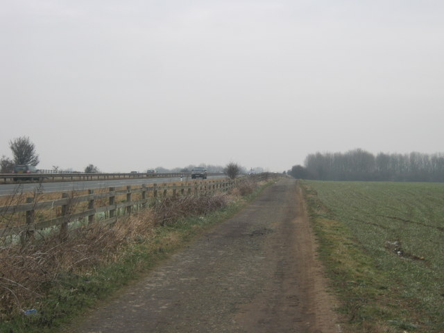 Bridleway from Staindrop Road in Darlington