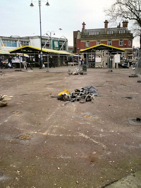 Work begins on Hyde Market