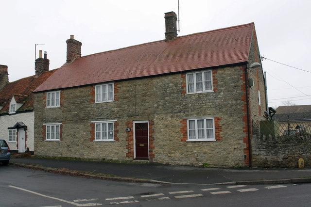 Corner House, Church Green/Chapel Road junction
