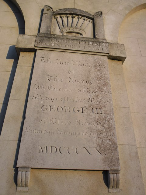 Inscription on Middle Lodge