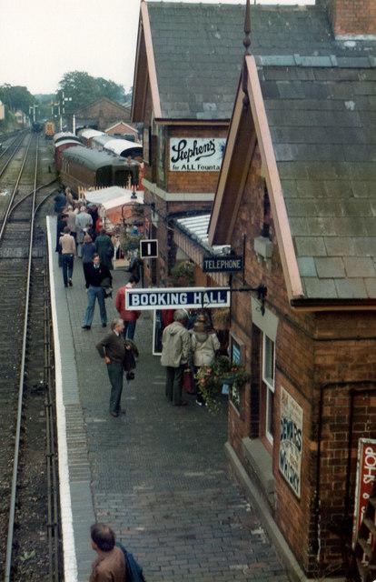 Bewdley Station SVR 1984