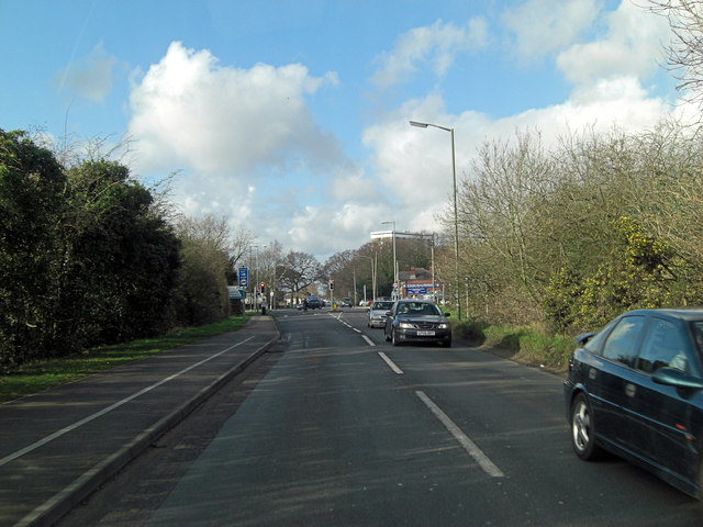 A3024 junction with Kathleen Road
