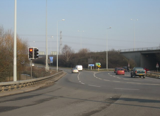 B376 / A30 / M25, interchange