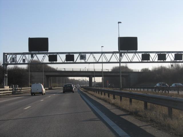Southbound M42 near Coleshill
