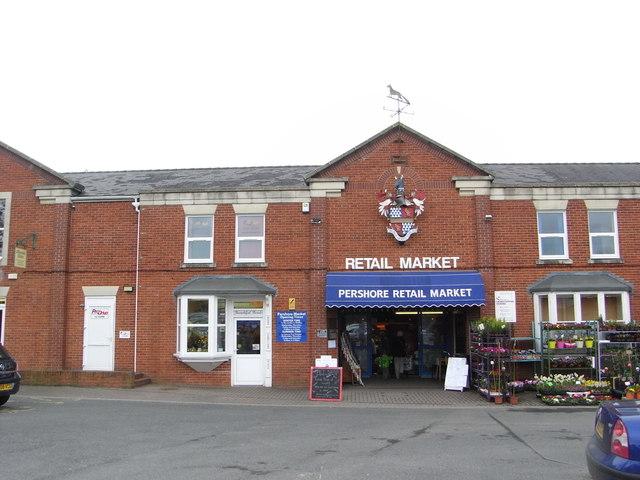 Pershore Retail Market