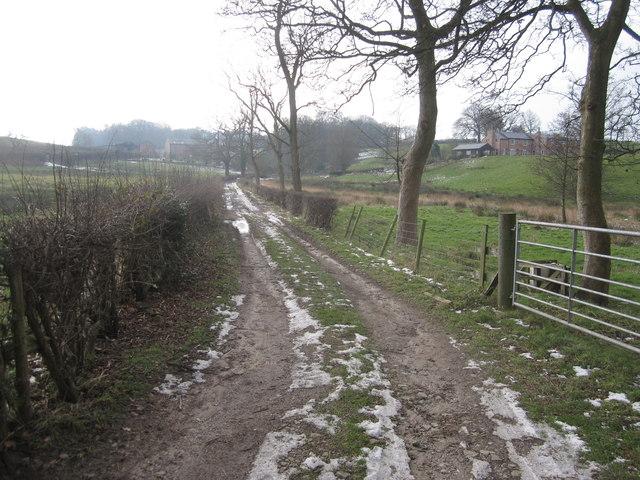 Shaws Lane, Mottram-St-Andrew