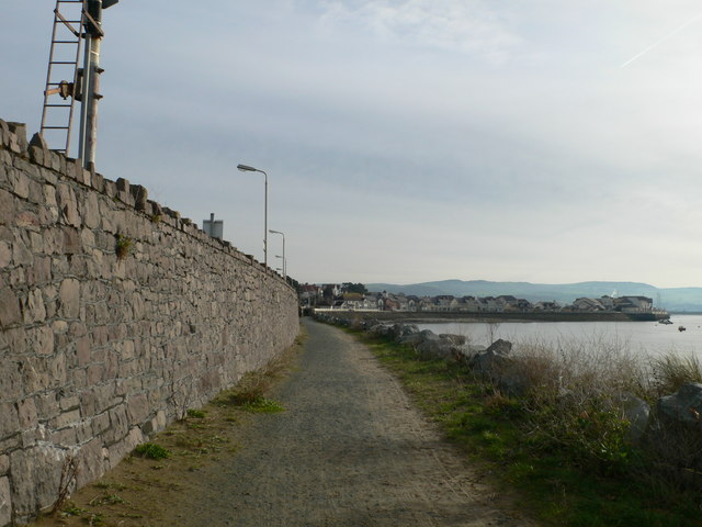 The Coast Path at Deganwy
