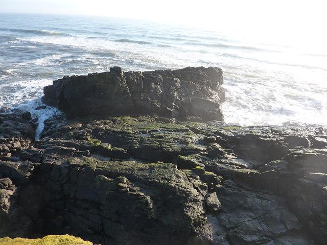 Hackley Head at low tide