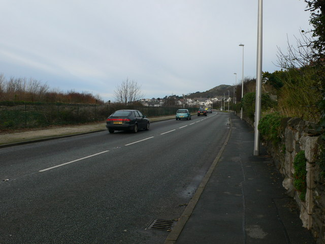 The A546 Glan y Mor Road