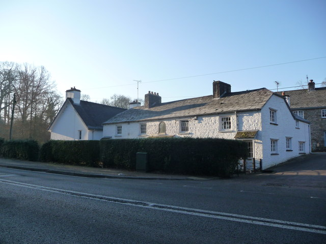 The old Post Office at Llanover