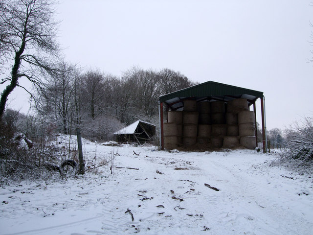 Hill Barn, near Grove Farm Dairy