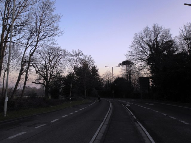 Dusk in Horndean Road