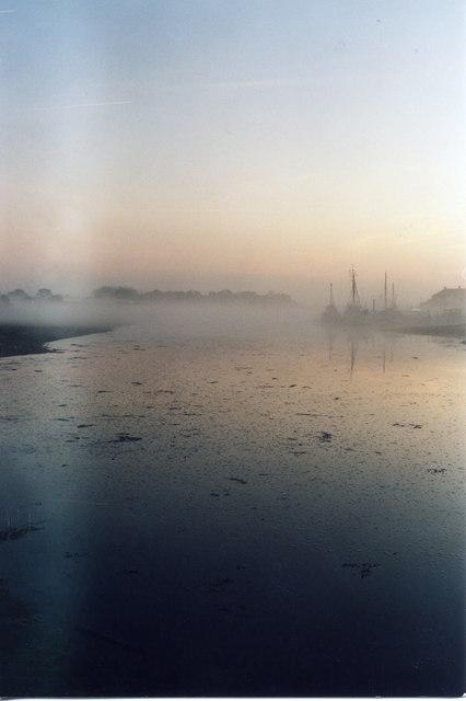 Morning Mist on the Lake 12