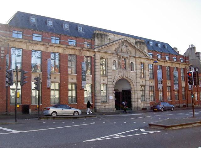 Old Drill Hall, Old Market Street