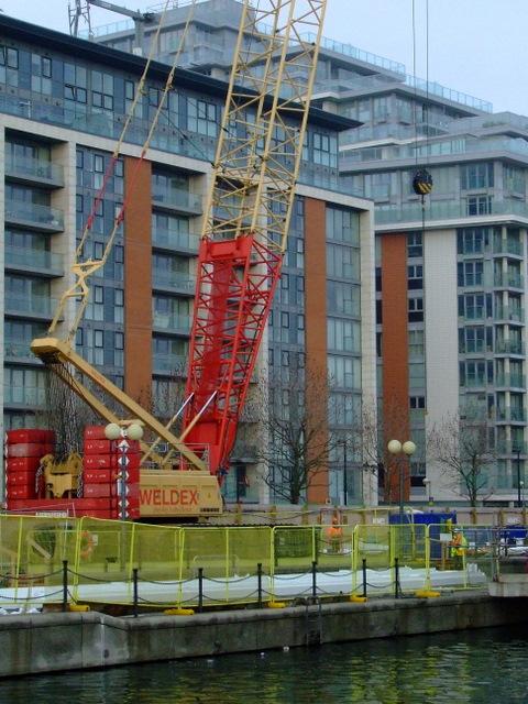 Weldex crane at Royal Victoria Dock