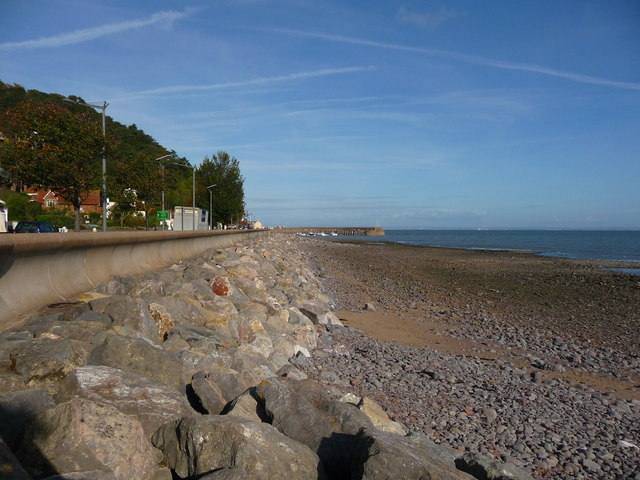 Minehead - Sea Defences