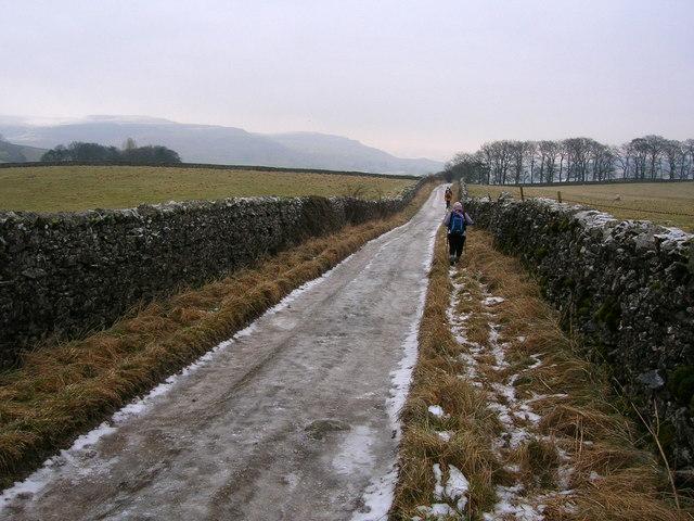 Icy Thwaite Lane