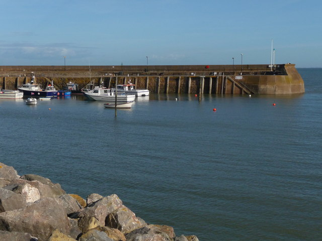 Minehead - Harbour Wall