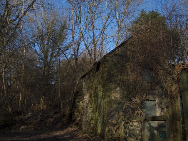 Disused building at Cwm Y Pandy