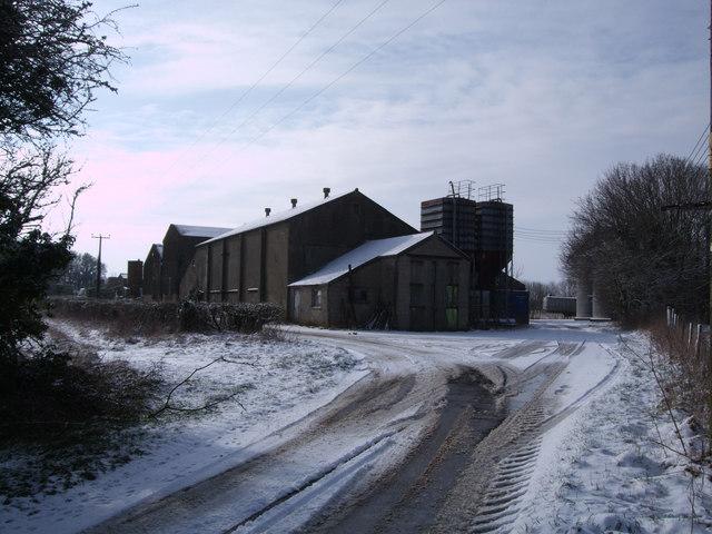 Agricultural buildings, Poulton Downs