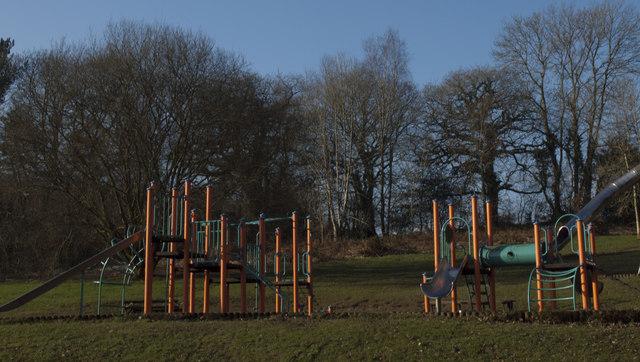 Slides in Bryngarw Park