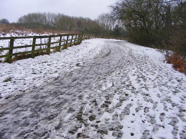Sedgley Park Footpath