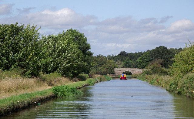 Shropshire Union Canal near Gnosall Heath, Staffordshire