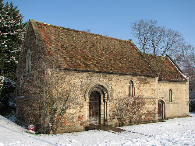 The Leper Chapel in February