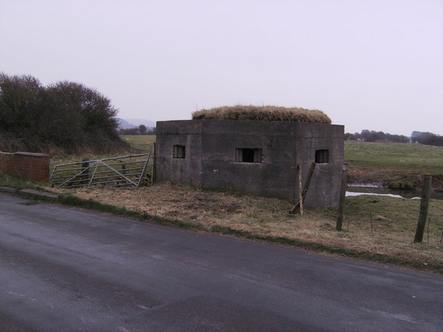 """""""Pill Box"""" with grass on top!"""