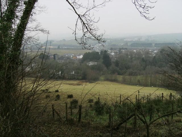 Llanllwch in winter