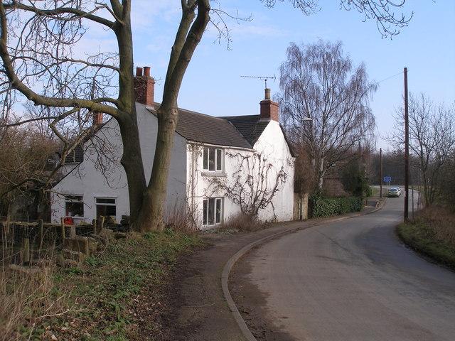 Cottage at the bottom of Jebb Lane