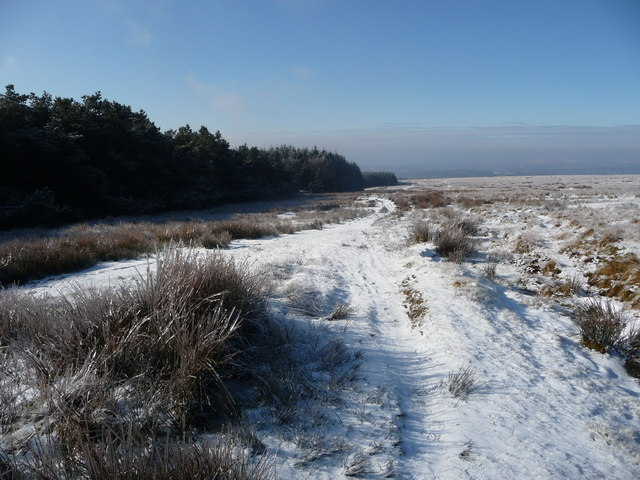 Path near Ysgubor Wen