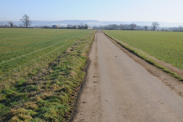 Driveway to Cape Hall Farm