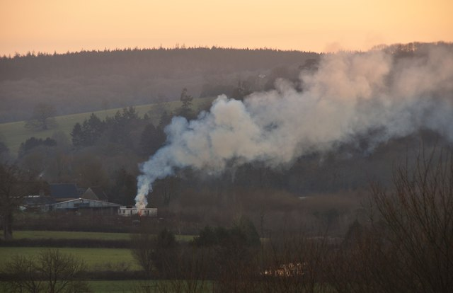 Mid Devon : Old Sawmill Bonfire