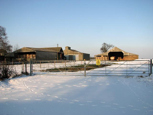 Sheds at Coles Green Farm