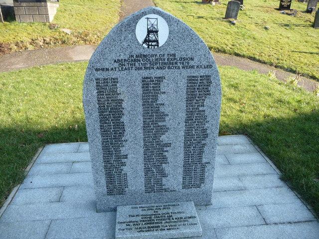 Abercarn mining disaster memorial