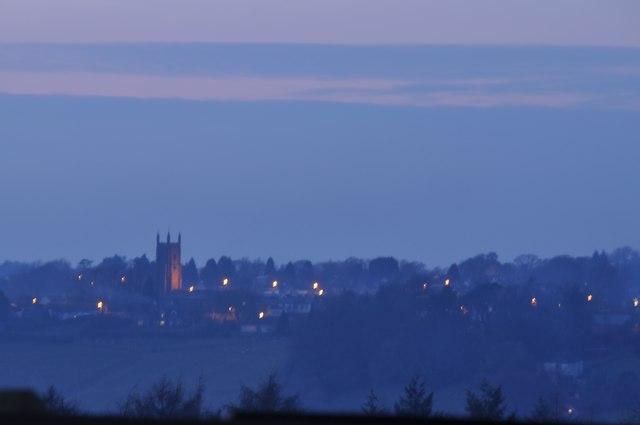 Mid Devon : Chulmleigh Scenery